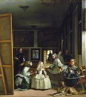 The Family of Philip IV by Diego Velazquez