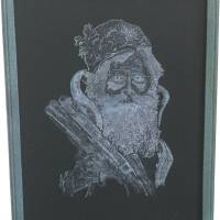 Ol' Saint Nick_original Art Prints & Posters by Crist A. Stringfellow
