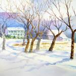 """""""Winter Fields"""" by lindahaile"""
