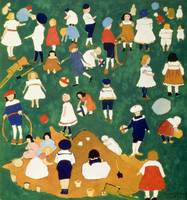 Children by Kazimir Malevich