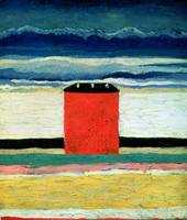 Red House by Kazimir Malevich