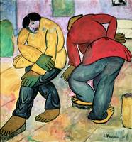 The Floor Polishers by Kazimir Malevich