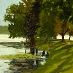 """A Quiet Day on Lake Fowler"" by anthony"