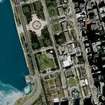 """Grant Park Chicago, Illinois"" by GeoEye"