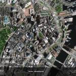 """Boston, Massachussetts"" by GeoEye"