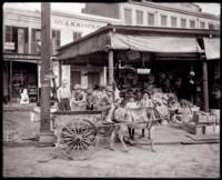 French Market, New Orleans c1900