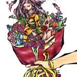 """""""彼女の花束(Her Flower Bouquet)"""" by keima-koumoto"""