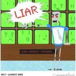 """#017 - Lawbot 5000"" by myrobotfriends"