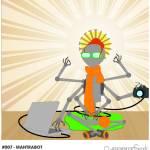 """""""#007 - Mantrabot"""" by myrobotfriends"""