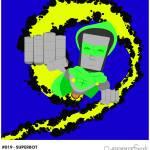 """#019 - Superbot"" by myrobotfriends"