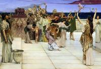 Dedication to Bacchus by Sir Lawrence Alma-Tadema