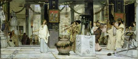 Vintage Festival by Sir Lawrence Alma-Tadema