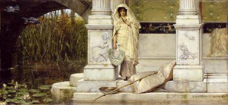 Roman Fisher Girl by Sir Lawrence Alma-Tadema