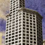 """Smith Tower Pano"" by ScovoPhoto"