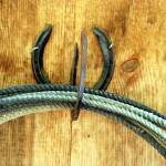 """""""Horseshoe Rope"""" by westwindranchcreations"""