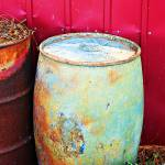 """Funky Old Rain Barrel"" by lifeoverhere"
