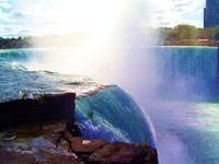 Horseshoe Falls on the Niagra