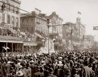 Mardi Gras Parade, New Orleans c1890-1905 by WorldWide Archive