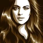 """""""Lindsay Lohan"""" by carolina"""