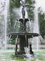 A Beautiful Fountain in the Alameda Mexico DF 1
