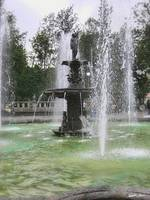 A Beautiful Fountain in the Alameda Mexico DF 2