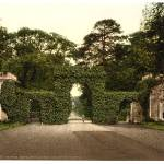 """Irvine, Eglington Castle, entrance gates, Scotland"" by DNDesigns"