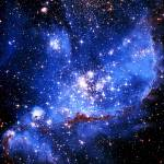 """""""Infant Stars in Neighboring Galaxy"""" by RandallKlopping"""