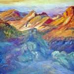 """Mountain Sunrise"" by heartart"