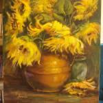 """Sunflowers"" by heartart"