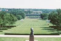 View from the Nelson-Atkins Museum