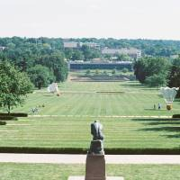 View from the Nelson-Atkins Museum Art Prints & Posters by Brittney S