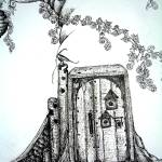 """The Crooked Door"" by sheissomewhere"