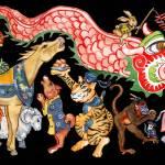 """""""12 Lunar Animals"""" by clovia"""