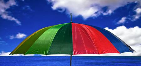 _MG_1282_Umbrella by the sea
