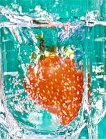 Just Another Strawberry-In-Water Shot