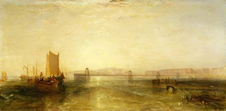 Brighton from the Sea by Joseph Turner
