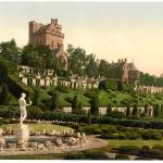 """Drummond Castle from S.W. (i.e., Southwest), Scotl"" by DNDesigns"