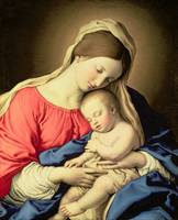 Madonna and Child by Il Sassoferrato