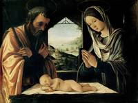 The Nativity by Lorenzo Costa