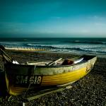 """Fishing boat, Worthing"" by mattosbornephotography"
