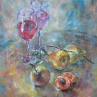 Pears Art Prints & Posters by Olga Zakharova