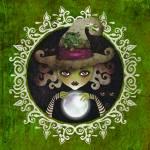 """Elphaba, the Wicked Witch of the West"" by sandygrafik_arts"