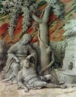 Samson and Delilah by Andrea Mantegna