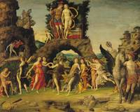 The Parnassus: Mars and Venus by Andrea Mantegna