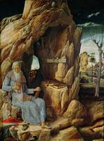 St. Jerome by Andrea Mantegna