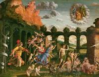 Minerva Chasing the Vices from Garden of Virtue