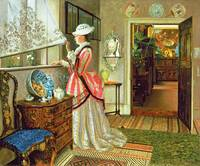 Summer by John Atkinson Grimshaw