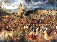 Bruegel,Pieter the Elder-Christ Carrying The Cross