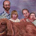 """Sample Family Portrait Painting"" by stephenthedigitalartist"
