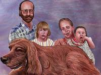 Sample Family Portrait Painting